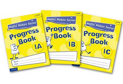 Maths Makes Sense: Y1: ABC Progress Books Mixed Pack by Richard Dunne, Carrie Dunne