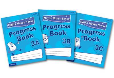 Maths Makes Sense: Y3: ABC Progress Books Mixed Pack by Richard Dunne, Carrie Dunne