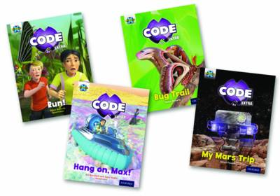 Project X Code Extra: Yellow Book Band, Oxford Level 3: Bugtastic and Galactic Orbit by Jan Burchett, Sara Vogler, Jillian Powell, Helen Roberts