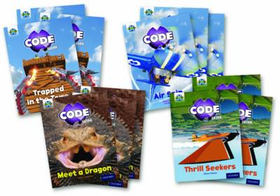 Project X Code Extra: Light Blue Book Band, Oxford Level 4: Dragon Quest and Wild Rides by Jan Burchett, Sara Vogler, Alison Hawes, Claire Llewellyn
