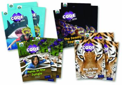 Project X Code Extra: Green Book Band, Oxford Level 5: Jungle Trail and Shark Dive by Janice Pimm, Jillian Powell, Kate Scott