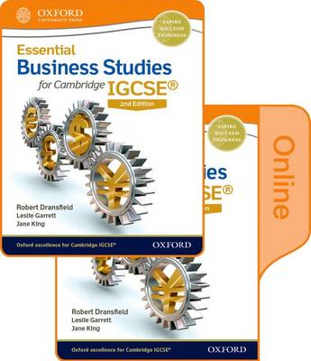 Essential Business Studies for Cambridge IGCSE by Robert Dransfield, Terry L. Cook, Jane King