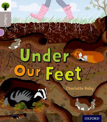 Oxford Reading Tree Infact: Oxford Level 1: Under Our Feet by Charlotte Raby