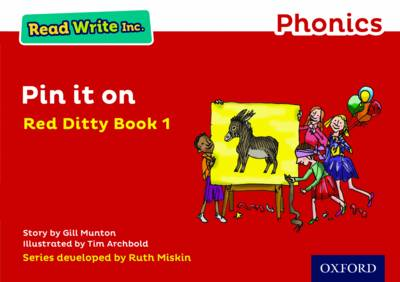 Read Write Inc. Phonics: Red Ditty Book 1 Pin it on by Gill Munton