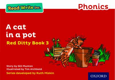 Read Write Inc. Phonics: Red Ditty Book 3 a Cat in a Pot by Gill Munton