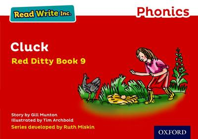 Read Write Inc. Phonics: Red Ditty Book 9 Cluck by Gill Munton