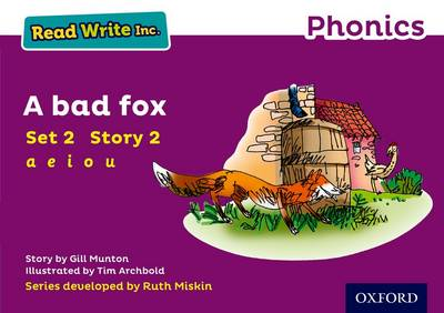 Read Write Inc. Phonics: Purple Set 2 Storybook 2 A Bad Fox by Gill Munton