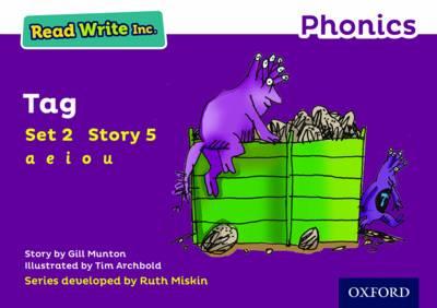 Read Write Inc. Phonics: Purple Set 2 Storybook 5 Tag by Gill Munton