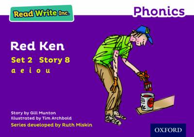 Read Write Inc. Phonics: Purple Set 2 Storybook 8 Red Ken by Gill Munton