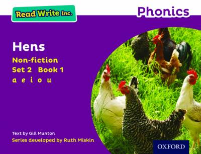 Read Write Inc. Phonics: Purple Set 2 Non-Fiction 1 Hens by Gill Munton