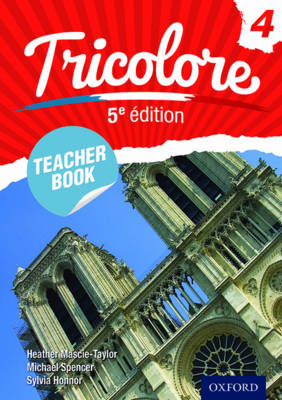 Tricolore Teacher Book by Heather Mascie-Taylor, Sylvia Honnor