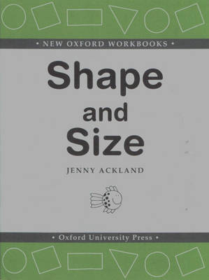 Shape and Size by Jenny Ackland