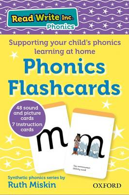 Read Write Inc. Home: Phonics Flashcards by Ruth Miskin