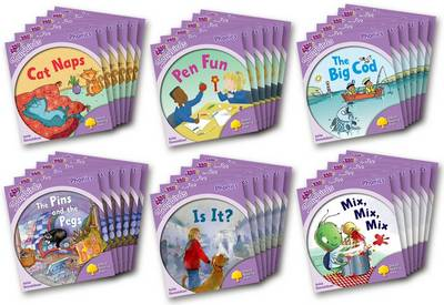 Oxford Reading Tree: Level 1+: More Songbirds Phonics Class Pack (36 Books, 6 of Each Title) by Julia Donaldson