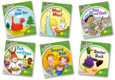 Oxford Reading Tree Songbirds Phonics: Level 2 Pack of 6 by Julia Donaldson
