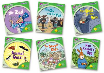 Oxford Reading Tree: Level 2: More Songbirds Phonics: Pack (6 Books, 1 of Each Title, Including Free Teaching Notes) by Julia Donaldson