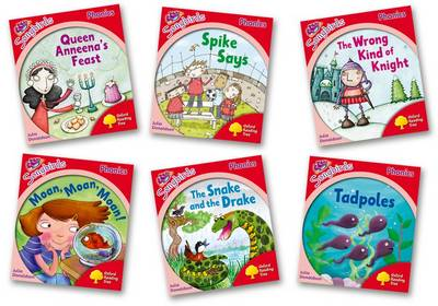 Oxford Reading Tree Songbirds Phonics Level 4 Mixed Pack of 6 by Julia Donaldson, Clare Kirtley
