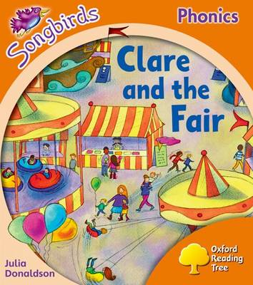 Clare and the Fair Local Teacher's Material by Julia Donaldson
