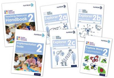Numicon: Number, Pattern and Calculating 2 Easy Buy Pack by Tony Wing, Romey Tacon, Ruth Atkinson