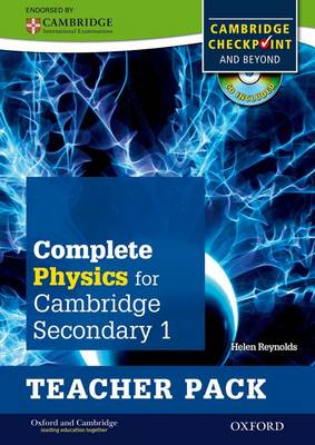 Complete Physics for Cambridge Secondary 1 Teacher Pack For Cambridge Checkpoint and Beyond by Helen Reynolds