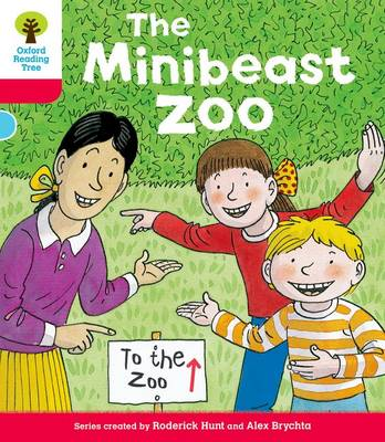 Oxford Reading Tree: Decode & Develop More A Level 4: Mini Zoo by Roderick Hunt, Paul Shipton