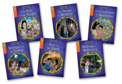 Oxford Reading Tree TreeTops Time Chronicles: Level 13: Pack of 6 by Roderick Hunt, David Hunt