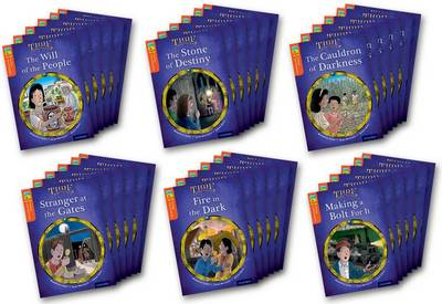 Oxford Reading Tree TreeTops Time Chronicles: Level 13: Pack of 36 by Roderick Hunt, David Hunt