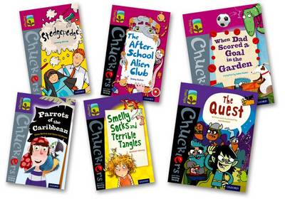 Oxford Reading Tree Treetops Chucklers: Oxford Level 10-11: Pack of 6 by Jonny Zucker, Damian Harvey, Steve Barlow, Steve Skidmore