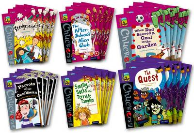 Oxford Reading Tree Treetops Chucklers: Oxford Level 10-11: Pack of 36 by Jonny Zucker, Damian Harvey, Steve Barlow, Steve Skidmore