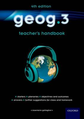 Geog.3: Teacher's Handbook by RoseMarie Gallagher