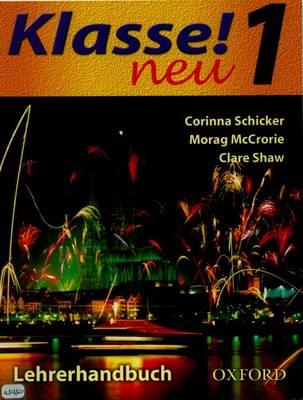 Klasse! Neu: Part 2: Workbook L - Noch Mal! by Corinna Schicker, Morag McCrorie