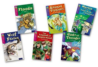 Oxford Reading Tree TreeTops Myths and Legends: Levels 10 and 11: Pack of 6 by Pie Corbett, Sally Prue, Michaela Morgan, Julia Golding