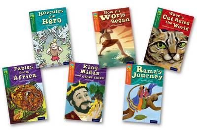 Oxford Reading Tree TreeTops Myths and Legends: Levels 12 and 13: Pack of 6 by Timothy Knapman, Elizabeth Laird, Michaela Morgan, Fiona MacDonald