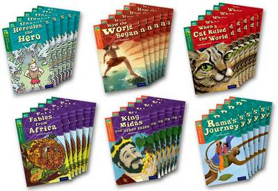 Oxford Reading Tree TreeTops Myths and Legends: Levels 12 and 13: Pack of 36 by Timothy Knapman, Elizabeth Laird, Michaela Morgan, Fiona MacDonald
