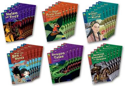 Oxford Reading Tree TreeTops Myths and Legends: Levels 14 and 15: Pack of 36 by Mal Peet, Elspeth Graham, David Calcutt, Susan Gates