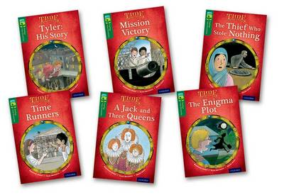 Oxford Reading Tree TreeTops Time Chronicles: Level 12: Pack of 6 by Roderick Hunt, David Hunt