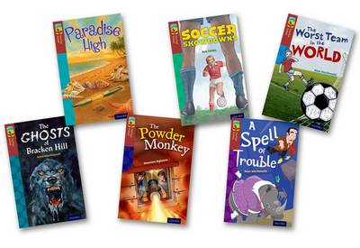 Oxford Reading Tree Treetops Fiction: Level 15: Pack of 6 by Annie Dalton, Alan MacDonald, Maureen Rylance, Rob Childs