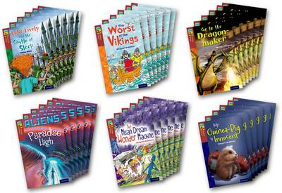 Oxford Reading Tree TreeTops Fiction: Level 15 More Pack A: Pack of 36 by Annie Dalton, Margaret McAllister, Shirley Isherwood, Debbie White