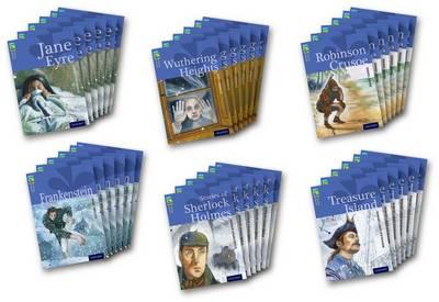 Oxford Reading Tree Treetops Classics: Level 17 by Mary Wollstonecraft Shelley, Nick Warburton, Sir Arthur Conan Doyle, Trevor Millum