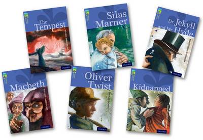Oxford Reading Tree TreeTops Classics: Level 17 More Pack A: Pack of 6 by Robert Louis Stevenson, Margaret McAllister, Alan MacDonald, William Shakespeare