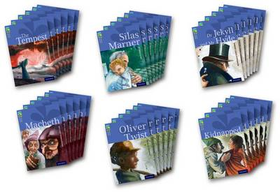 Oxford Reading Tree TreeTops Classics: Level 17 More Pack A: Pack of 36 by Robert Louis Stevenson, Alan MacDonald, Margaret McAllister, William Shakespeare
