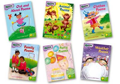 Oxford Reading Tree: Levels 1-2: Glow-Worms: Pack (6 Books, 1 of Each Title) by John Foster