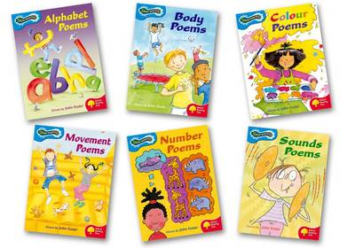 Oxford Reading Tree: Levels 3-4: Glow-Worms: Pack (6 Books, 1 of Each Title) by John Foster