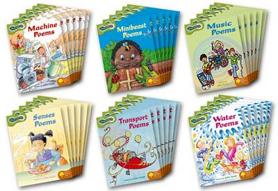 Oxford Reading Tree: Levels 7-8: Glow-Worms: Class Pack (36 Books, 6 of Each Title) by John Foster