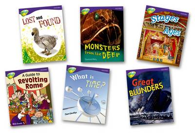 Oxford Reading Tree: Level 11A: Treetops More Non-Fiction: Pack of 6 (6 Books, 1 of Each Title) by David Hunt, Liz Miles, Claire Llewellyn, Charlotte Raby