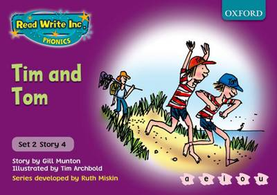 Read Write Inc. Phonics: Purple Set 2 Storybooks: Tim and Tom by Gill Munton, Ruth Miskin