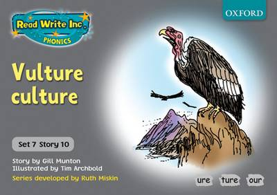 Read Write Inc. Phonics: Grey Set 7 Storybooks: Vulture Culture by Gill Munton, Ruth Miskin