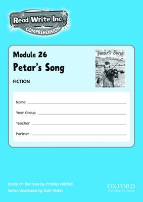 Read Write Inc. Comprehension: Modules 26-30: School Pack by Ruth Miskin, Caroline Brittain, Gill Munton