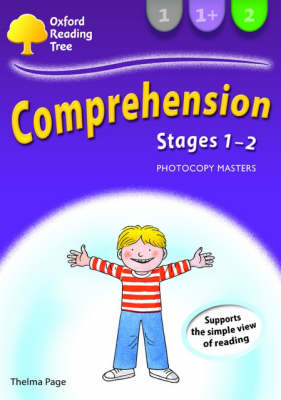 Oxford Reading Tree: Levels 1-2: Comprehension Photocopy Masters Stages 1-2 : Photocopy Masters by Thelma Page