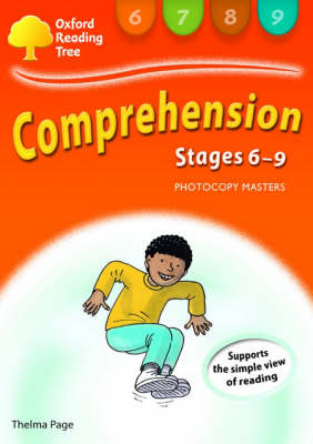 Oxford Reading Tree: Levels 6-9: Comprehension Photocopy Masters Stages 6-9 : Photocopy Masters by Thelma Page